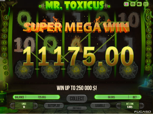 Mr Toxicus Slot