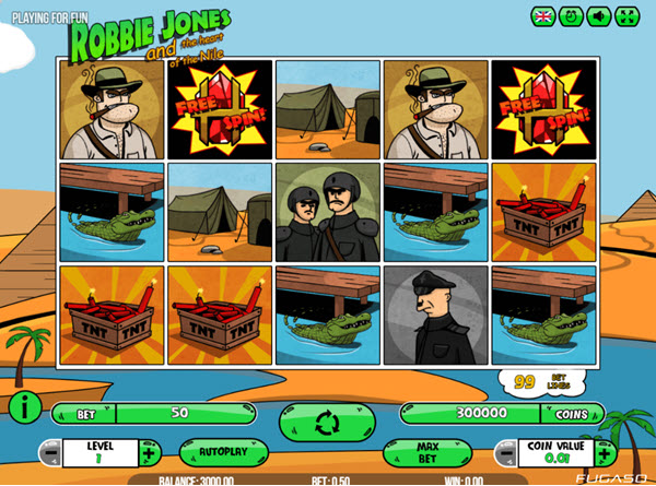 Robbie Jones Slot