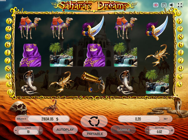 Sahara's Dreams Slot