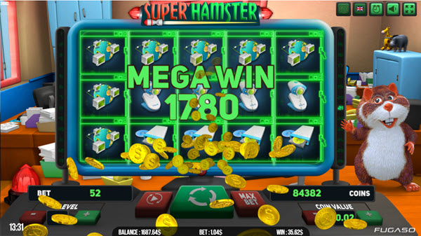 Super Hamster Slot