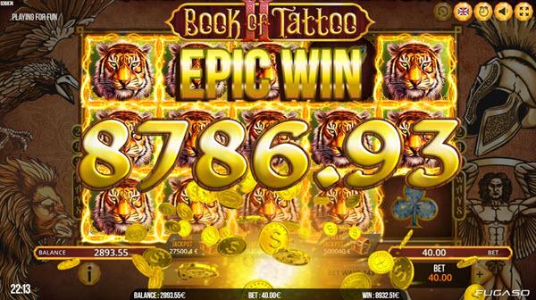 Book of tattoo 2 slots