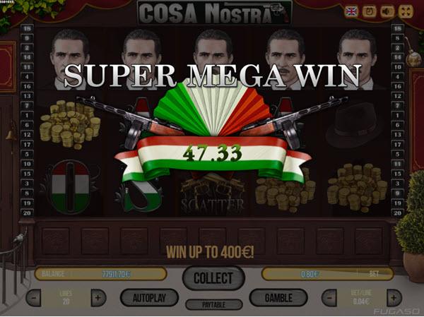 Cosa Nostra Slots