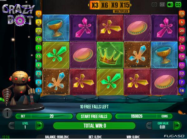 Crazy Bot slot Game