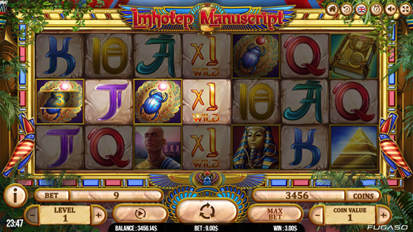Imhotep Manuscript Slot