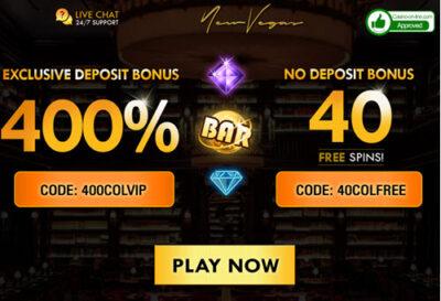 New casino bonuses usa