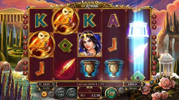 Golden Owl of Athena Online Slot