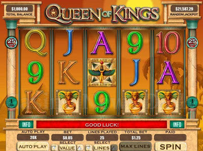 Queen of Kings Slot