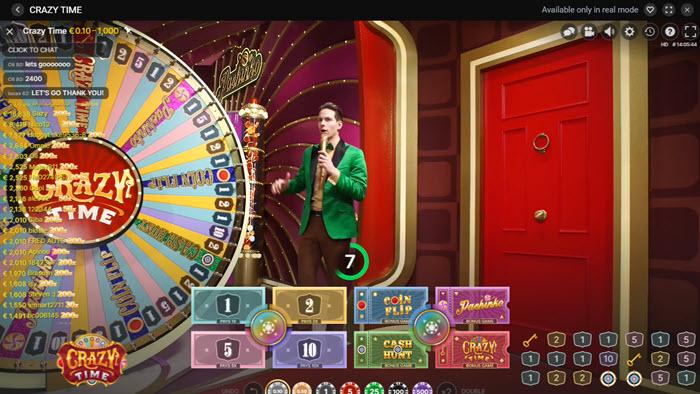 Crazy Time Online Casino