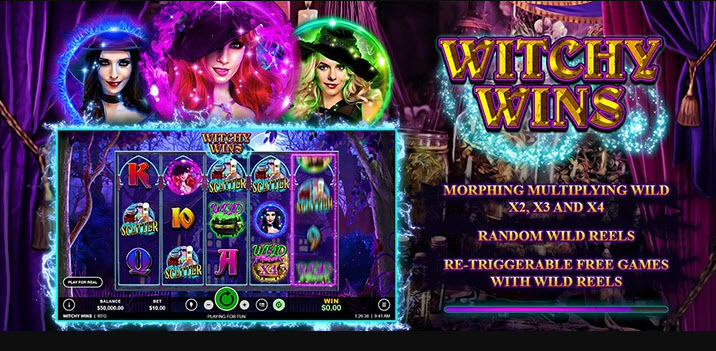witchy wins slot