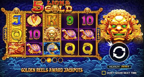 5 Lions Gold Slots
