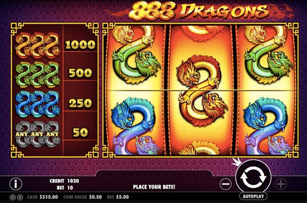 888 Dragon Slot