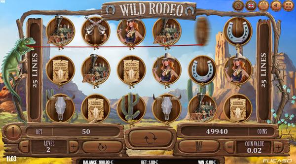 Wild Rodeo Slot