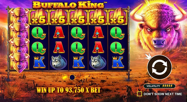 Buffalo King Slot