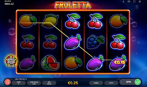 Fruletta slots