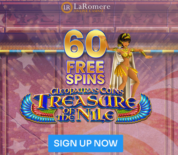 Cleopatras Coins Treasure of the Nile slot