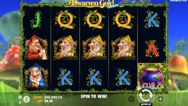 Dwarven Gold Deluxe Slot