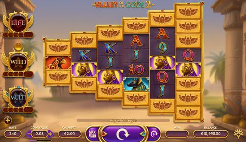 valley gods 2 slot