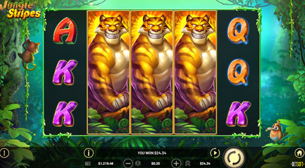 Jungle Stripes Slot