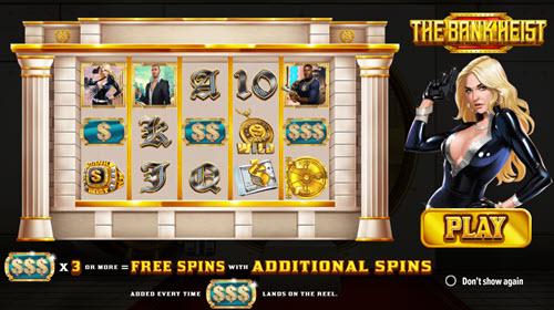 the bank heist slot