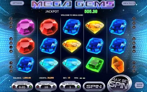 Mega Gems Slot